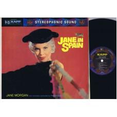 JANE MORGAN Jane In Spain (Kapp KS 3014) USA 1959 LP