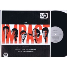 KENNY AND THE KASUALS Live At The Studio Club (Mark) USA 1966 LP