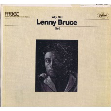 LENNY BRUCE Why Did Lenny Bruce Die ? (Capitol KAO 2630) USA 1966 LP