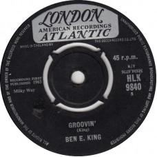 BEN E. KING Around The Corner / Groovin' (London 9840) UK 1963 45