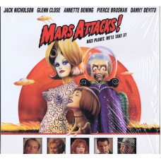 MARS ATTACKS feat. Jack Nicholson USA 1997 NTSC Laser Disc