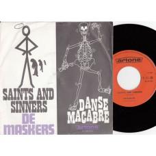 MASKERS Saints and Sinners / Danse Macabre (Artone DJ 25854) Holland 1968 PS 45