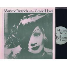 MARLENE DIETRICH Grand Hotel (Caliban 6040) USA 1948 LP