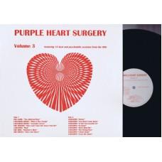 Various PURPLE HEART SURGERY Vol.3  (Modern MOD3) UK 1996 LP