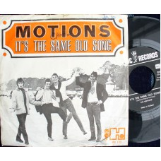 MOTIONS It's The Same Old Song / Someday Child (Havoc 122) Holland PS 45