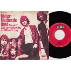 MAILER MACKENZIE BAND Movin (Decca) Holland PS 45