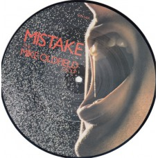 "MIKE OLDFIELD Mistake / The Peak (Virgin) UK 1982 7"" picture disc"
