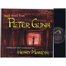 HENRY MANCINI More Peter Gunn (RCA) USA 1959 Soundtrack LP