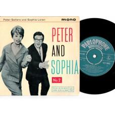 PETER SELLERS and SOPHIA LOREN Peter and Sophia No.2 (Parlophone GEP 8845) UK 1960 PS EP