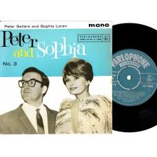 PETER SELLERS and SOPHIA LOREN Peter and Sophia No.3 (Parlophone GEP 8848) UK 1960 PS EP