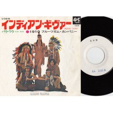 1910 FRUITGUM CO. Indian Giver (Buddah) Japan PS PROMO 45