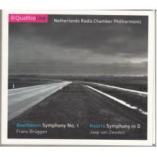 BEETHOVEN, KEURIS Symph.1 / Symph.in D - Jaap Van Zweden (QuattroLive QL2008-01) Holland CD