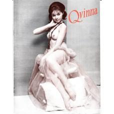 QVINNA Pin-Up magazine Nr.18 1965 Sweden