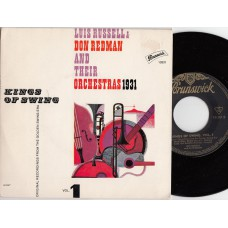 LUIS RUSSELL & DON REDMAN Kings Of Swing (Brunswick) Germany PS EP