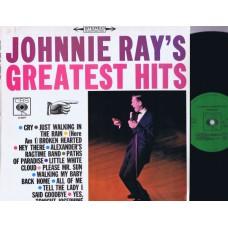 JOHNNIE RAY Greatest Hits (CBS) Holland 1969 LP