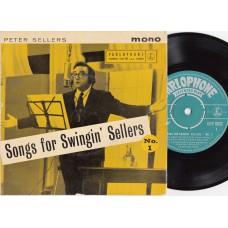 PETER SELLERS Songs For Swingin' Sellers No.1 (Parlophone GEP 8822 ) UK 1961 PS EP