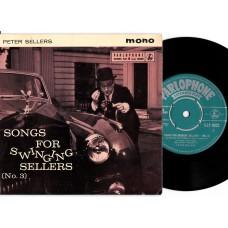 PETER SELLERS Songs For Swingin' Sellers No.3 (Parlophone GEP 8832) UK 1961 PS EP