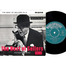 PETER SELLERS The Best Of No.2 (Parlophone GEP 8784) UK 1958 PS EP