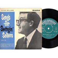 PETER SELLERS Songs For Swingin' Sellers No.2 (Parlophone GEP 8827) UK 1961  PS EP