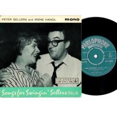 PETER SELLERS IRENE HANDL Songs For Swingin' Sellers No.4 (Parlophone GEP 8835) UK 1959 PS EP