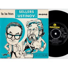 PETER SELLERS and PETER USTINOV The Two Peters EP (Parlophone) U