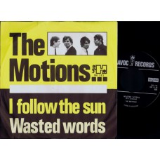 MOTIONS Wasted Words (Havoc) Holland 1965 PS 45