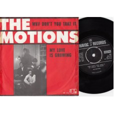MOTIONS Why Don't You Take It (Havoc) Holland 1666 PS 45