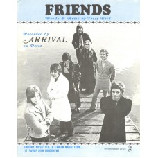 ARRIVAL Friends (Sheet Music) UK