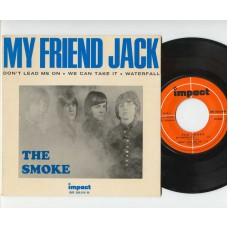 SMOKE, THE My Friend Jack / Don't Lead Me One / We Can Take It / Waterfall (Impact 200010) France 1967 PS EP