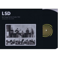 LSD Also Featuring KLUNK'S KLAN and WWH Real Garage Punk From Sweden 1966! (Subliminal Sounds) Sweden 2000 LP