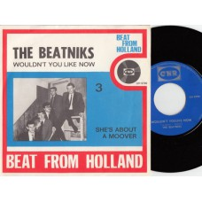 BEATNIKS Wouldn't You Like Now (CNR) Holland 1966 PS 45