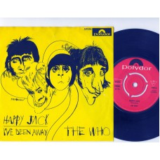 WHO,THE Happy Jack (Polydor) Norway 1966 PS 45