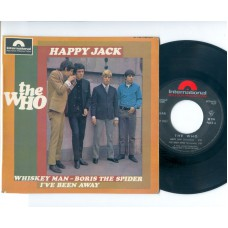 WHO,THE Happy Jack +3 (Polydor Intern.) French PS EP