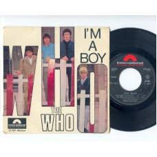 WHO,THE I'm A Boy / In The City / Disguises / Circles (Polydor Intern.) French PS EP