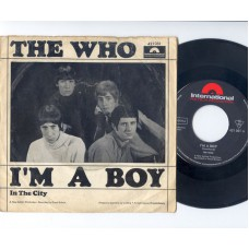 WHO,THE I'm A Boy / In The City (Polydor Intern.421051) Germany 1966 PS 45